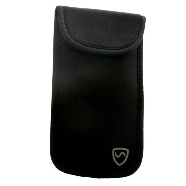 Neoprene Clip-On Phone Pouch to Shield Wireless Radiation
