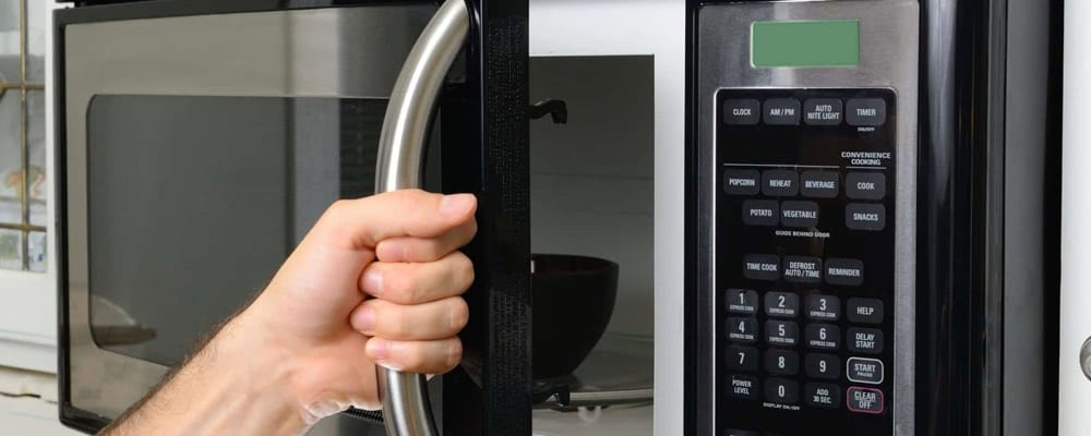 Stand Away from Your Microwave Oven