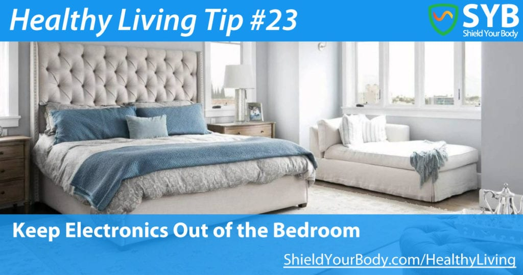 Keep Electronics Out Of Your Bedroom